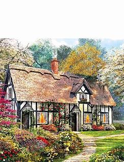 Woodland Cottages Set of 2 Jigsaws