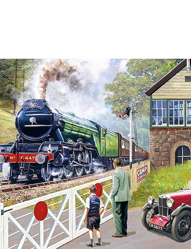 Back On Track 500PC Jigsaw Puzzle