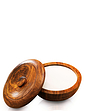 Sandlewood Wooden Shaving Bowl and Soap