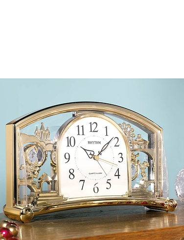 Rhythm Mantle Clock