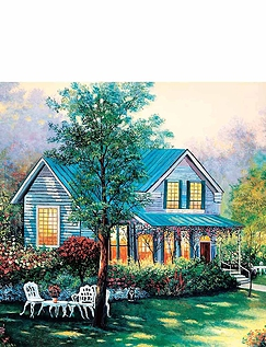 Hideaway House  4 x 100 PC Jigsaw