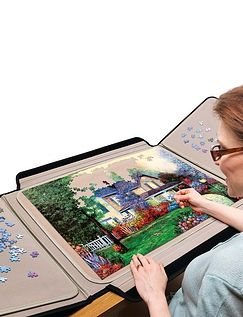 Portapuzzle And Jigsaw set
