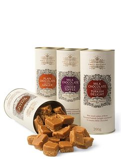Luxury Milk Chocolate Treat Assortment- Crystallised Giner
