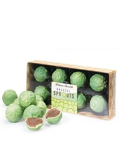 Chocolate Sprout Truffles