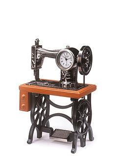 Sewing Machine Clock