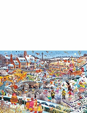 I Love Collection from Gibsons - Winter Jigsaw