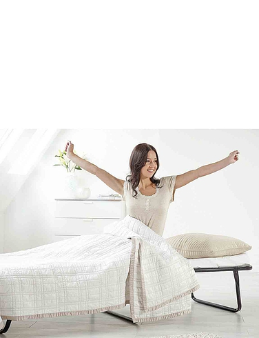 Standard Single Folding Bed With Mattress