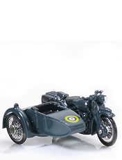 BSA Motorcycle & Side Car- The RAF