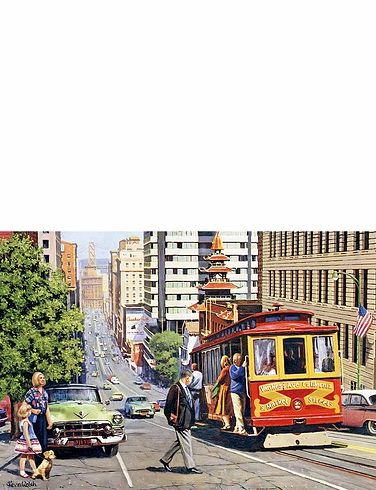 Cities Of The World 4 x 500 Piece Jigsaw Puzzles
