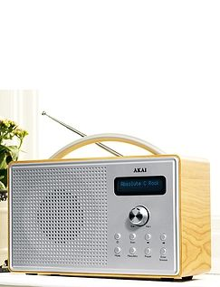 Akai Dab Radio With LCD