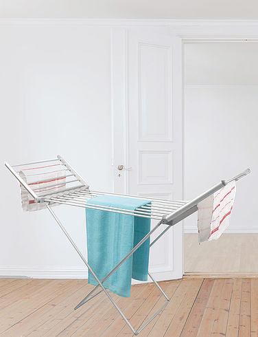18 Bar Heated Electric Clothes Airer