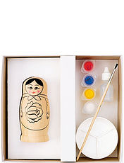 Russian Doll Painting Set