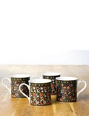 Set of 4 Heritage Mugs