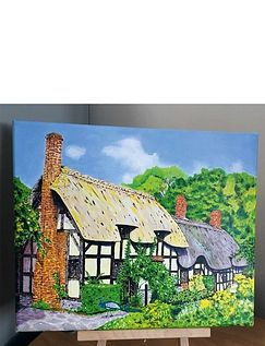 Classic Cottage Paint Your Own Canvas