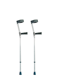 Standard Double Adjustable Crutches