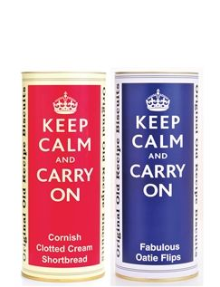 400g St Kew 'Keep Calm and Carry On' Twin Pack