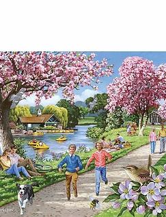 Apple Blossom Tree XL Jigsaw