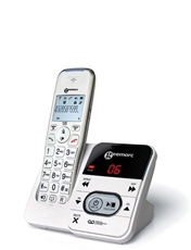 Single Amplified Cordless Telephone & Answer Machine