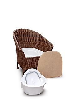 Walton Basketweave Commode