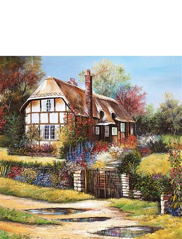 Rural Retreats 4 X 500Pc Jigsaw Set