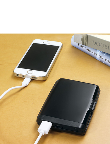 Card Wallet With Power Bank
