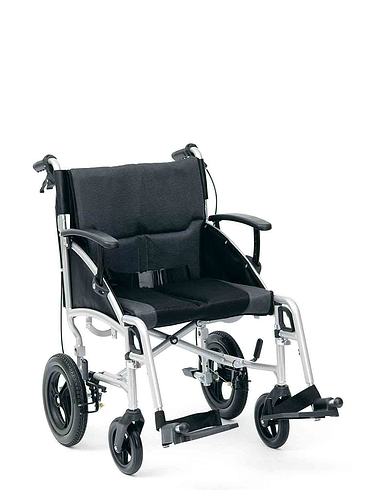 Luxury Transit Aluminium Wheelchair
