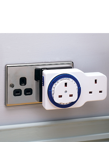 Timer Switch With Extension Socket