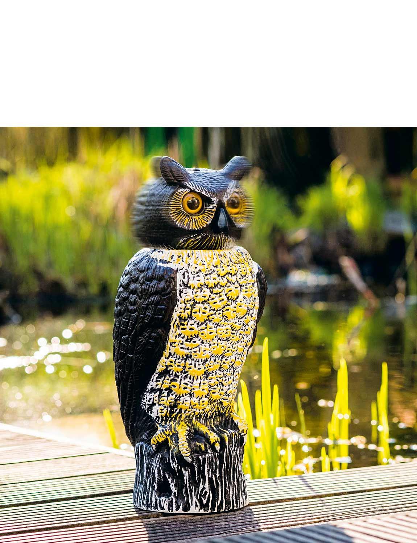 Garden Owl Bird Scarer Chums