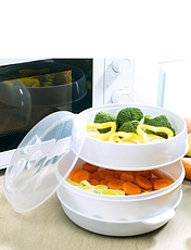 Two Tier Microwave Steamer