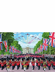 Trooping The Colour 1000pc Jigsaw