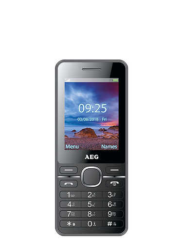 Contract Free AEG Mobile Phone