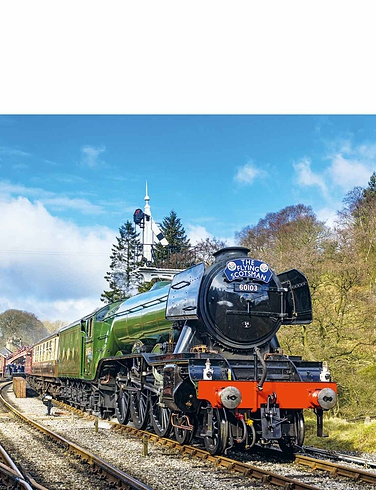 Classic British Trains -  4 x 500 Jigsaw Puzzles