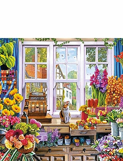 Floras Flower Shoppe Jigsaw