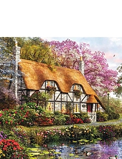 Garderners Cottage - 1000pc Jigsaw Puzzles