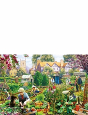 Green Fingers -  500pc  Jigsaw Puzzle