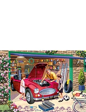 Grandad's Garage -  500pc Jigsaw Puzzle