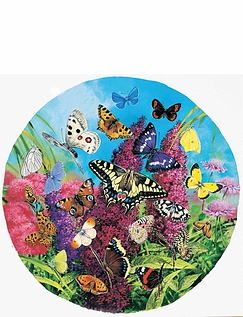 Butterflies of Europe - Circular puzzle