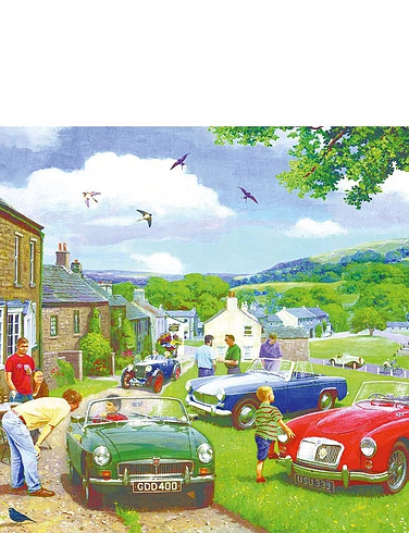 Driving in the Dales Set of 2 Jigsaws
