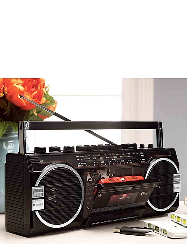 Three In One Stereo Radio Cassette Player