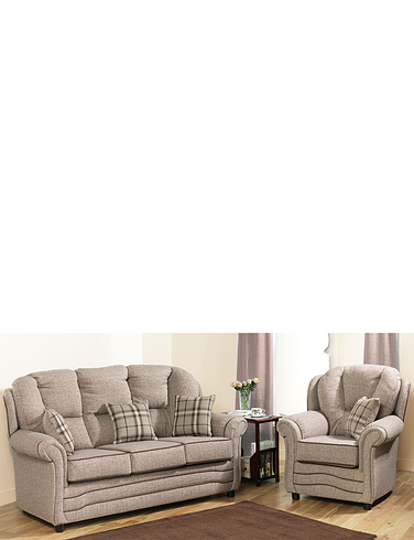 Chadderton 2 Seater Settee + 1 x Chair