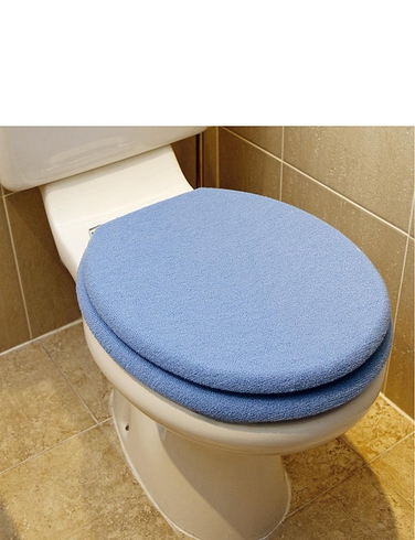 Fleece Toilet Seat and Lid Cover