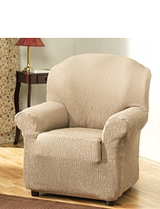 2 Way Easy Fit Chair Cover