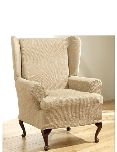 2 Way Stretch Furniture Covers - Wing Chair