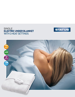 Machine Washable Electric Blankets