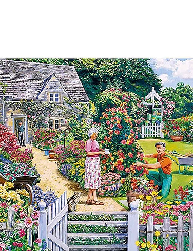 Gardeners Round - Gibsons Boxed Set Jigsaw