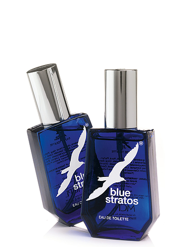 Blue Statos Aftershave