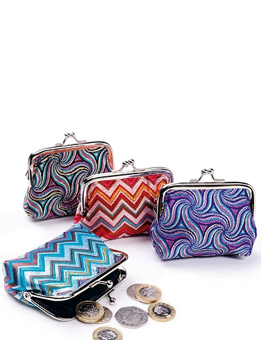 Set of 4 Coin Purses