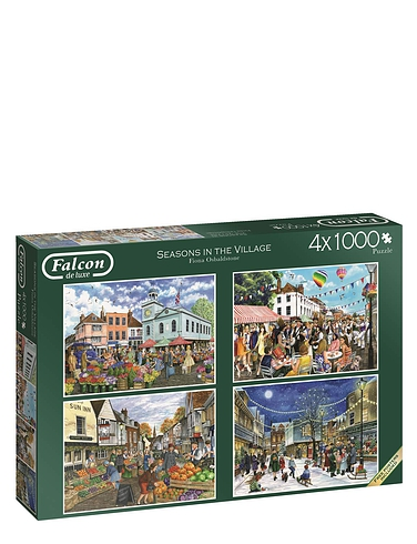 Seasons in The Village - Boxed Set Jigsaw