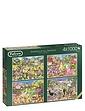 Gardens of All Season - Boxed Set Jigsaw
