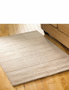 All Wool Squares Rug